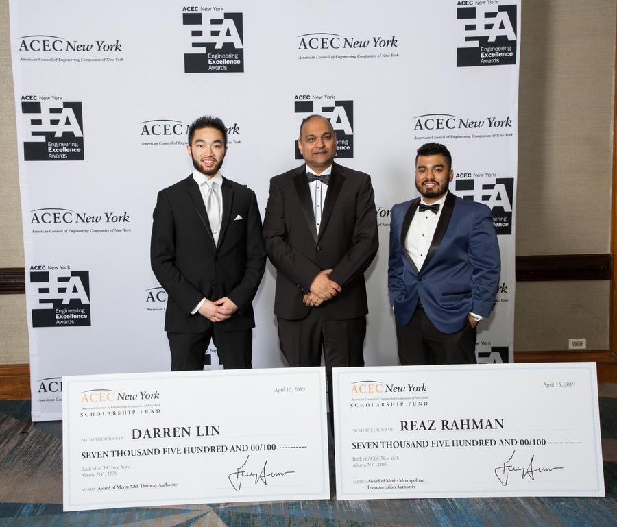 Darren Lin_Reaz Rahman_ACEC NY engineering scholarships