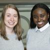 Ellianna and Elaine are CCNY's 2017 Valedictorian and Salutatorian