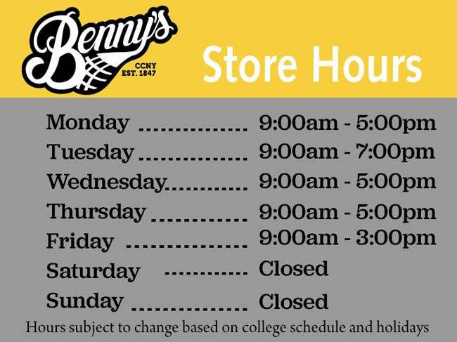 Store Hours, Monday Wednesday and Thursday 9:00am - 5:00pm Tuesday 9:00am - 7:00pm Friday 9:00am - 3:00pm Hours may change due to holidays