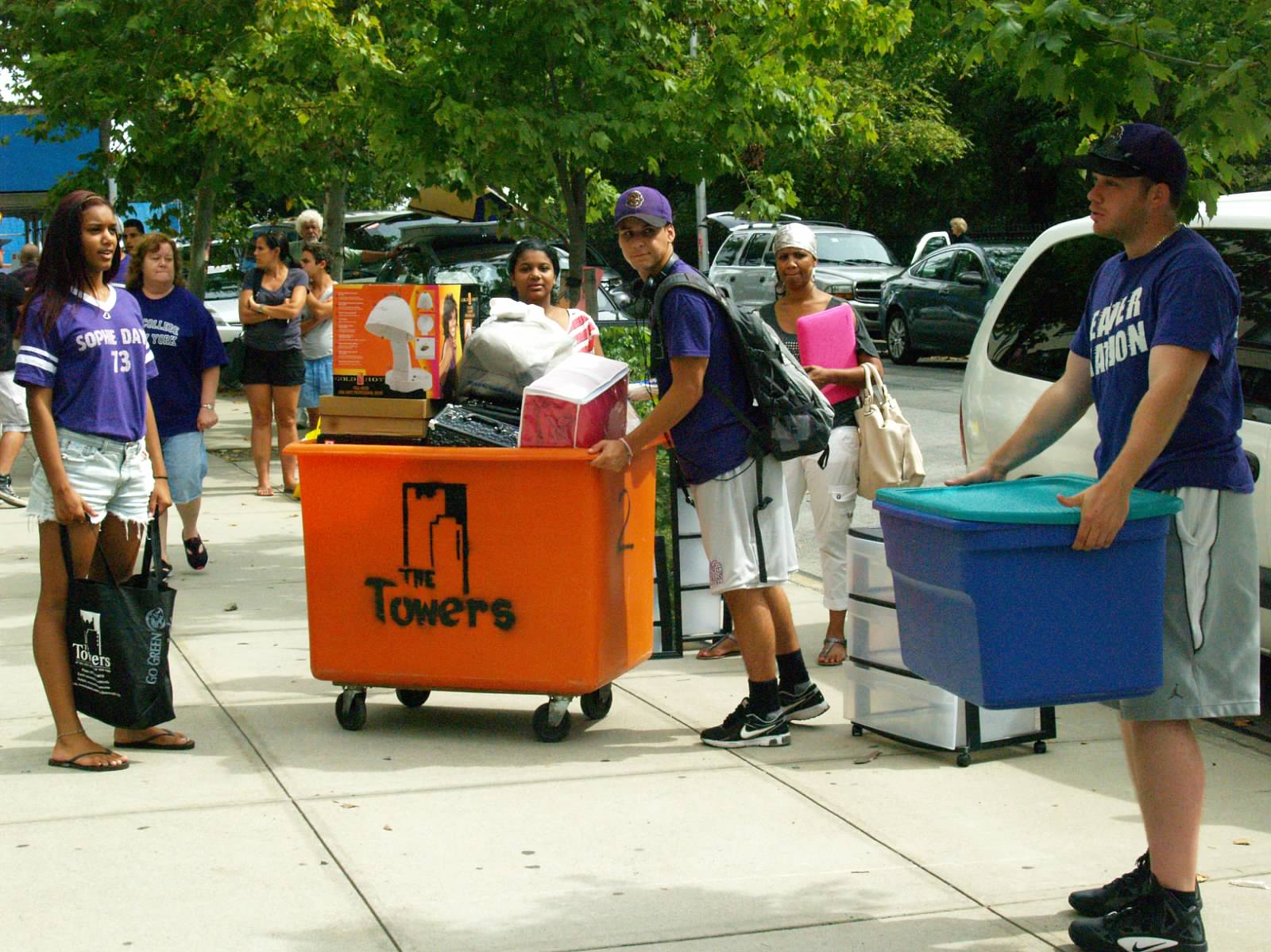 Towers Move-In Photo