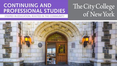 CCNY Continuing and Prof. Studies cover