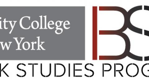 BLACK STUDIES LOGO WITH TH CITY COLLEGE OF NEW YORK LOGO.