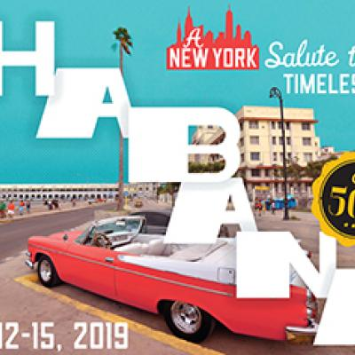 La Habana 500: A New York Salute to a Timeless City takes place from Nov. 12-15, 2019.