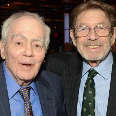 2020 Alumni honorees Joe Namath, Jimmy Breslin, Pete Hamill and Herbert Rubin