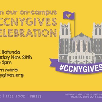 CCNYGIVES Celebration