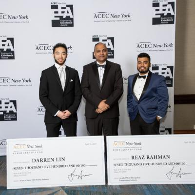 Darren Lin_Reaz Rahman_ACEC NY engineering scholarships