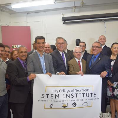 STEM institute Press Conference