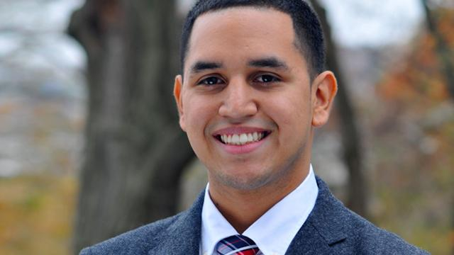 Harold Gamarro is CCNY's second GEM Fellow from the Class of 2020.