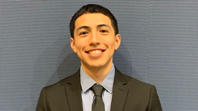 Michael Vera, a graduating senior at the Grove School of Engineering, wins National GEM Fellowship.