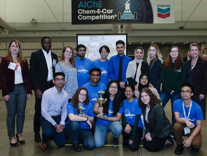 CCNY's 2018 Chem-E-Car_team