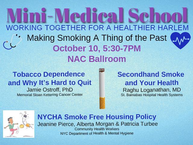 Mini-Medical School Smoking