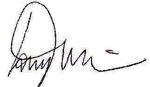 Tony Liss Signature