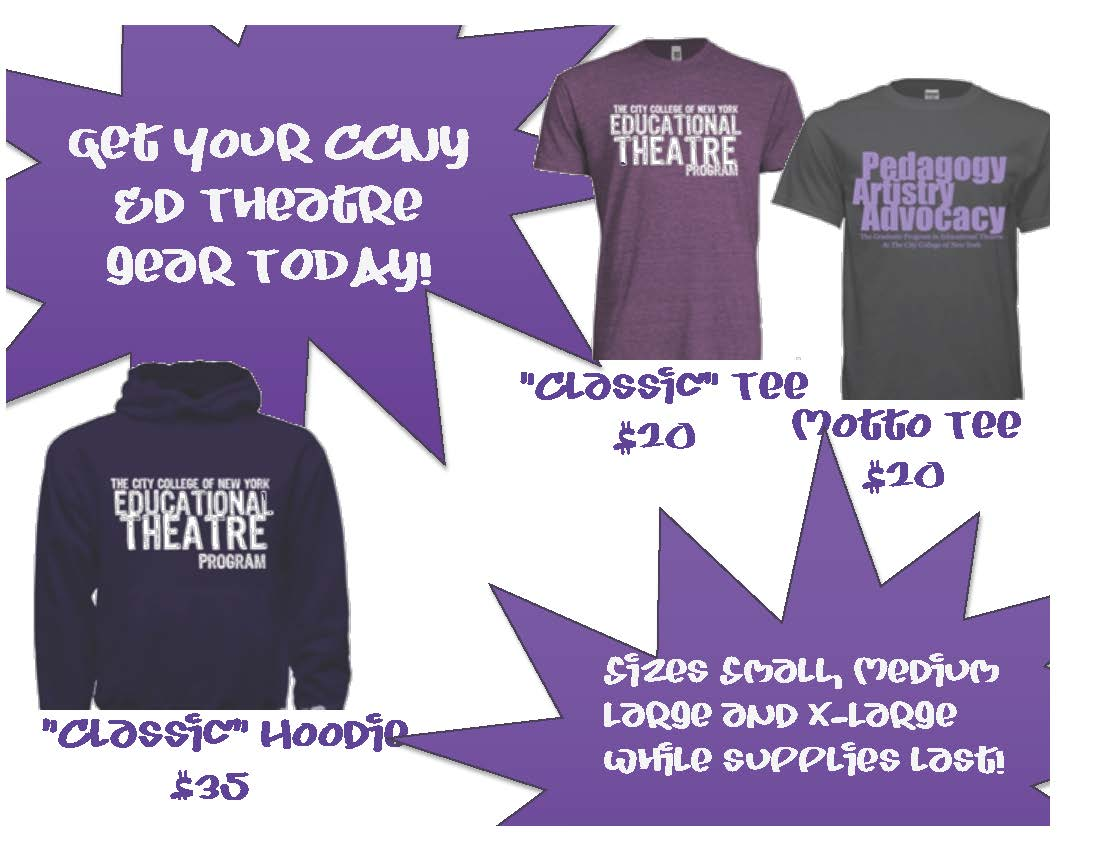 Educational Theatre T-Shirt Flyer