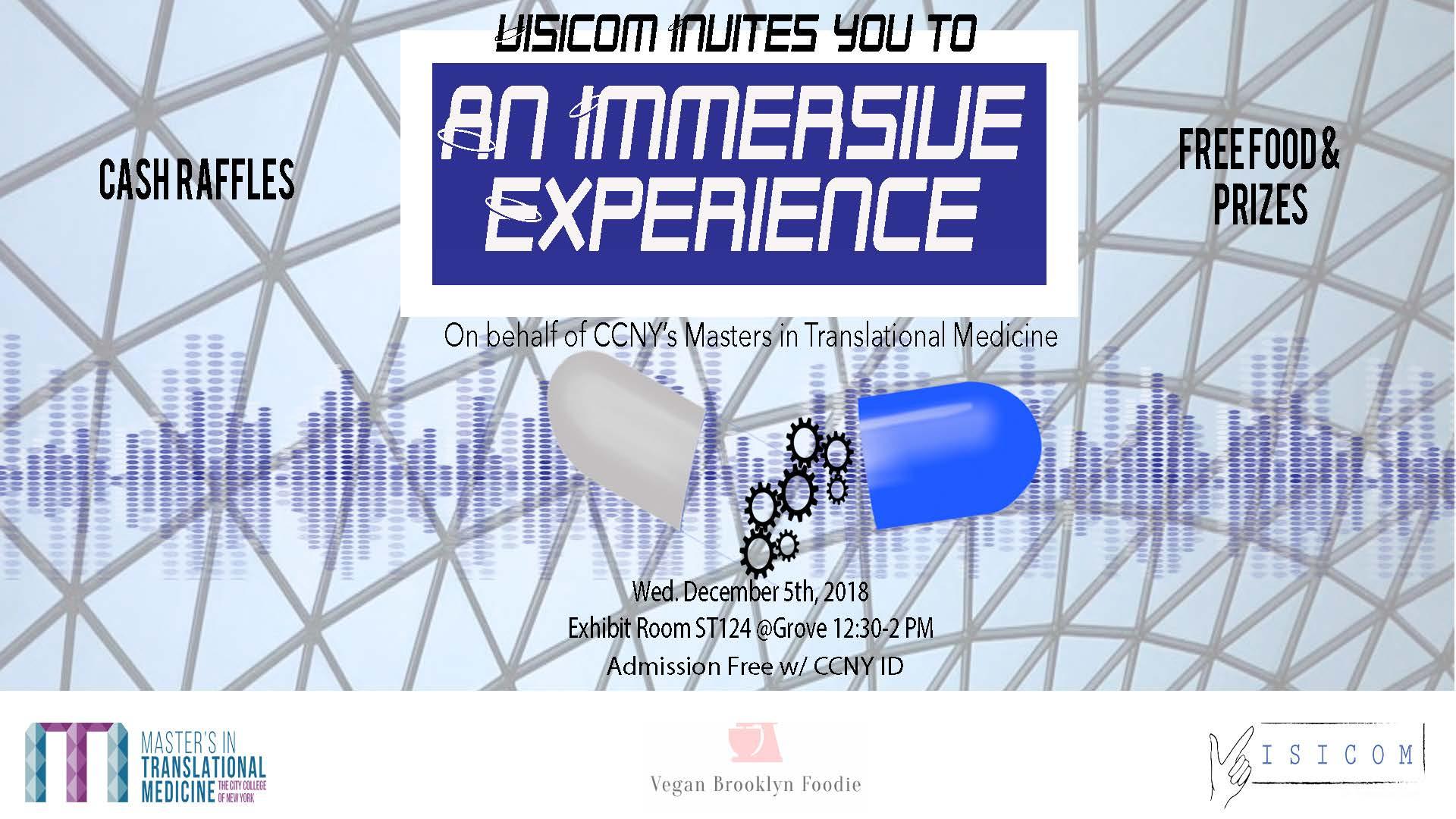 Visicom Event Flyer
