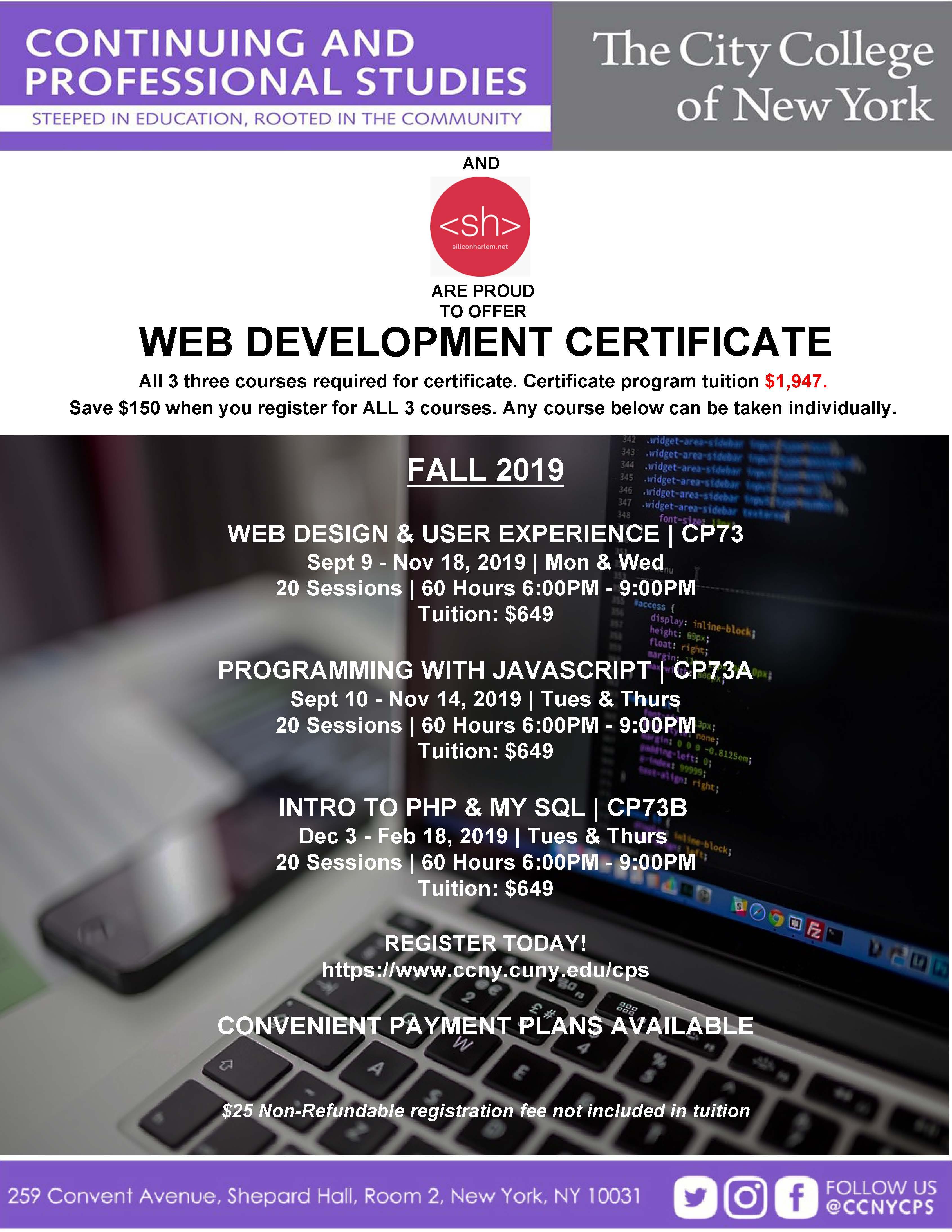 Web Development Program