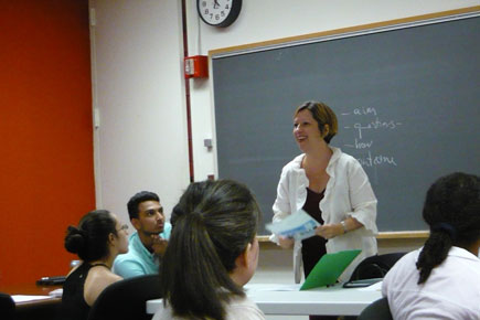 Welcome Professor Isabel Estrada