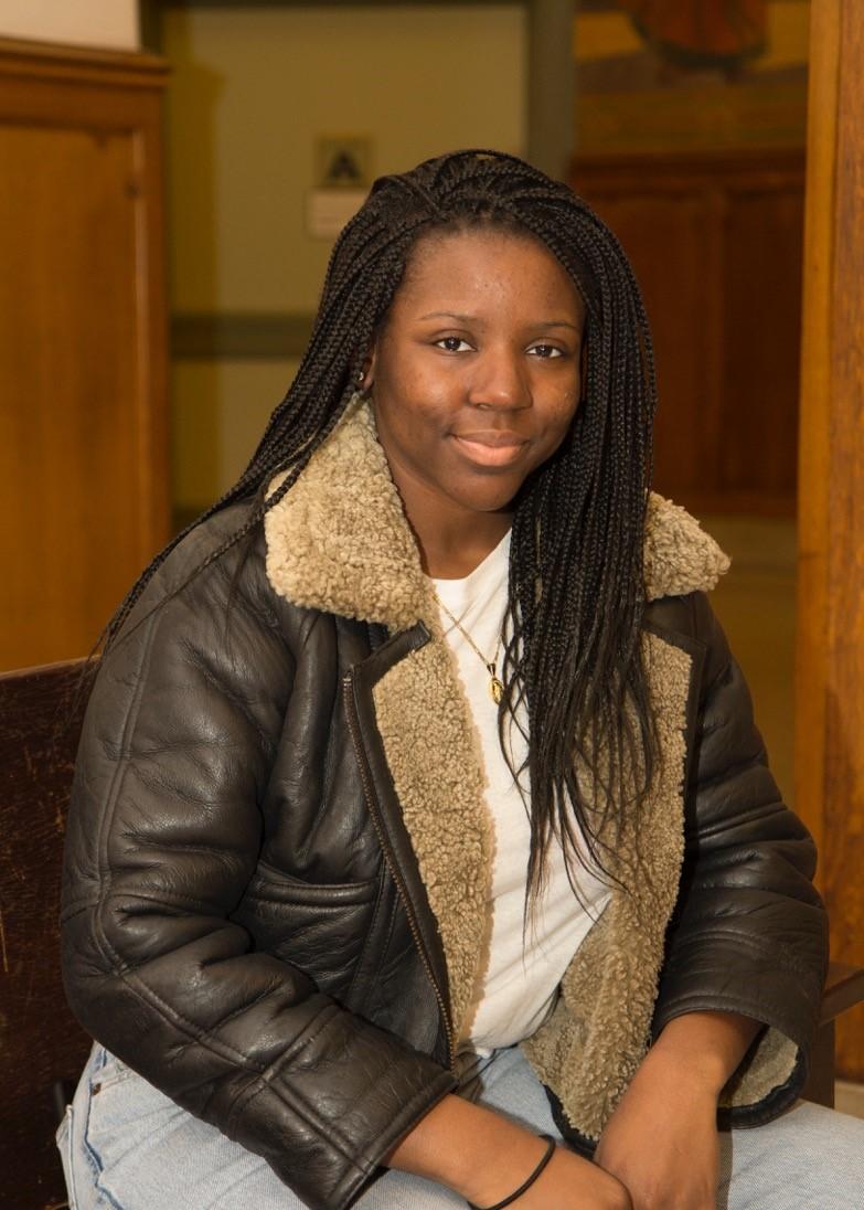 Ad/PR undergrad Wendy Ngala is TLF scholar.