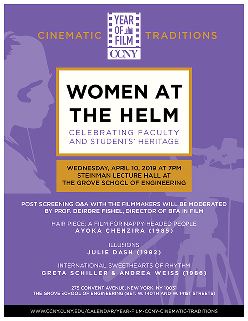 Women at the Helm screening on April 10