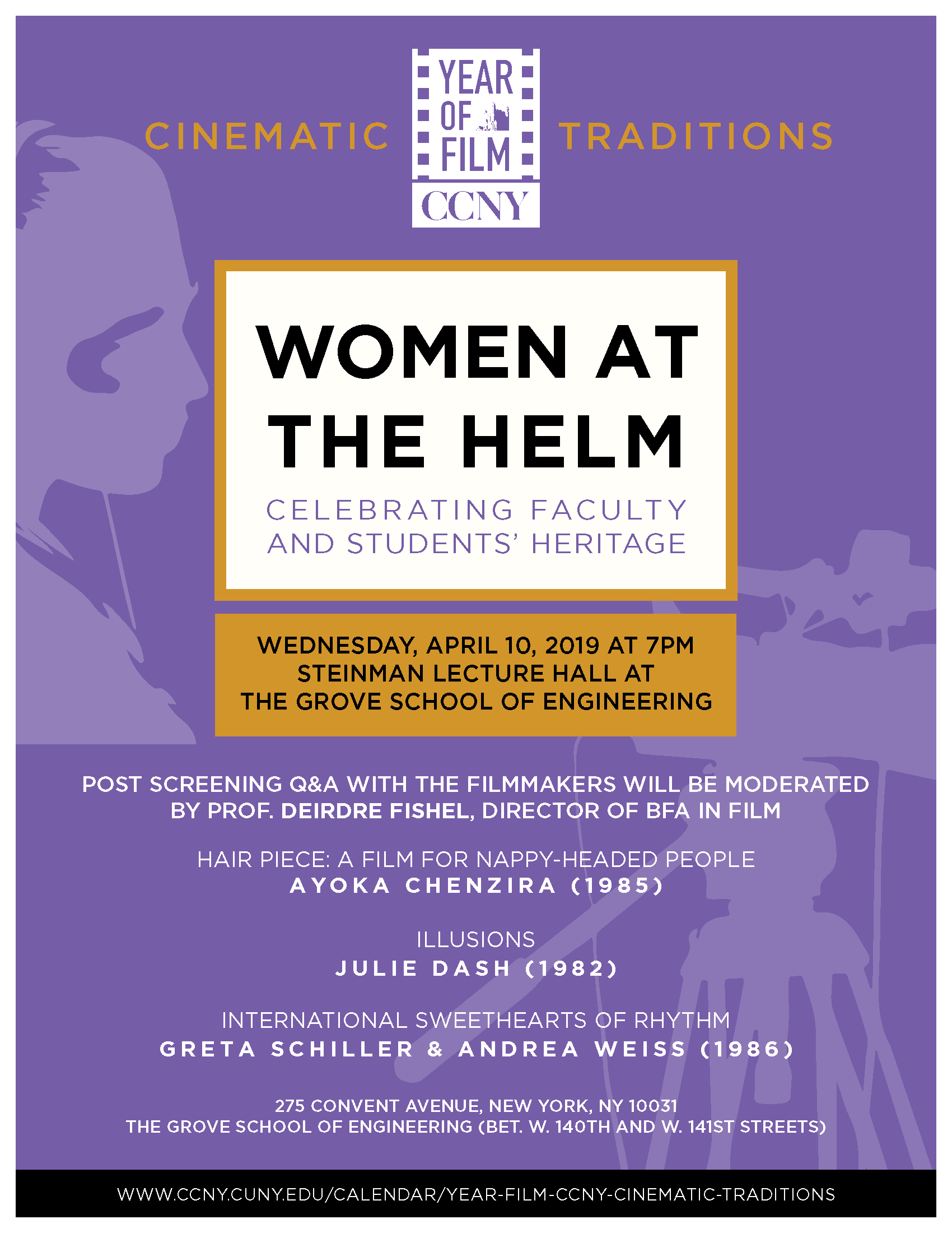 Women at the Helm - Cinematic Traditions at CCNY